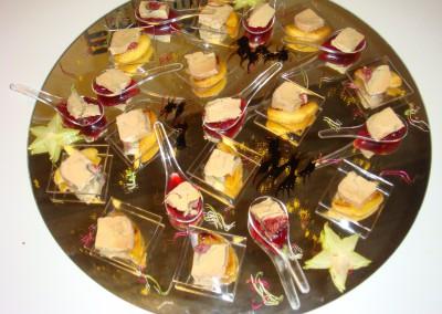 Verrines de foie gras